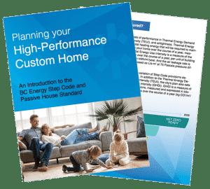 high performance custom homes
